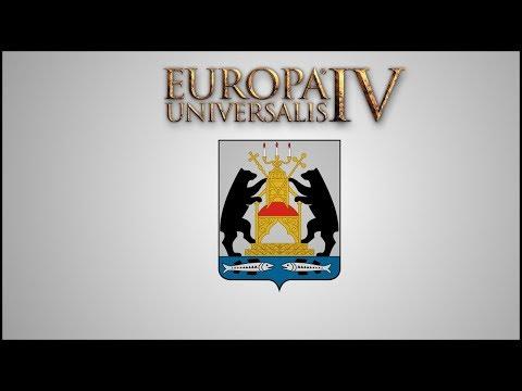 Europa Universalis IV -- Opening Moves as Novgorod  