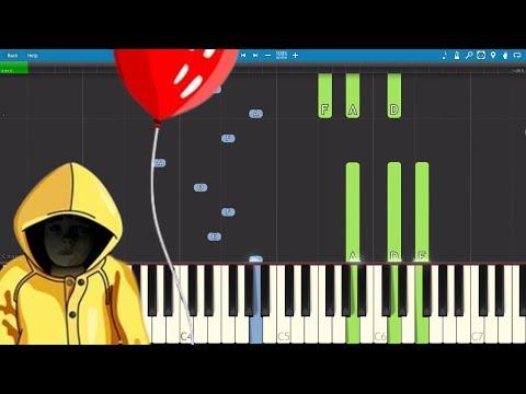 IT (2017) Soundtrack - Yellow Raincoat - Piano Tutorial - Benjamin Wallfisch