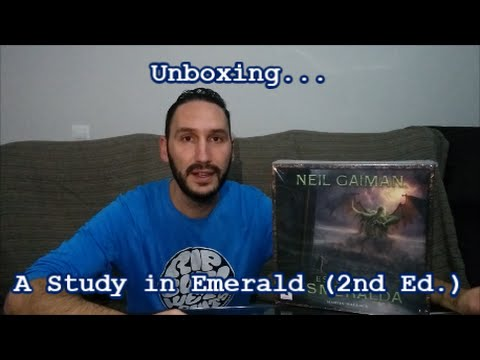 "Unboxing ""Study in Emerald"" (2nd Edition)"