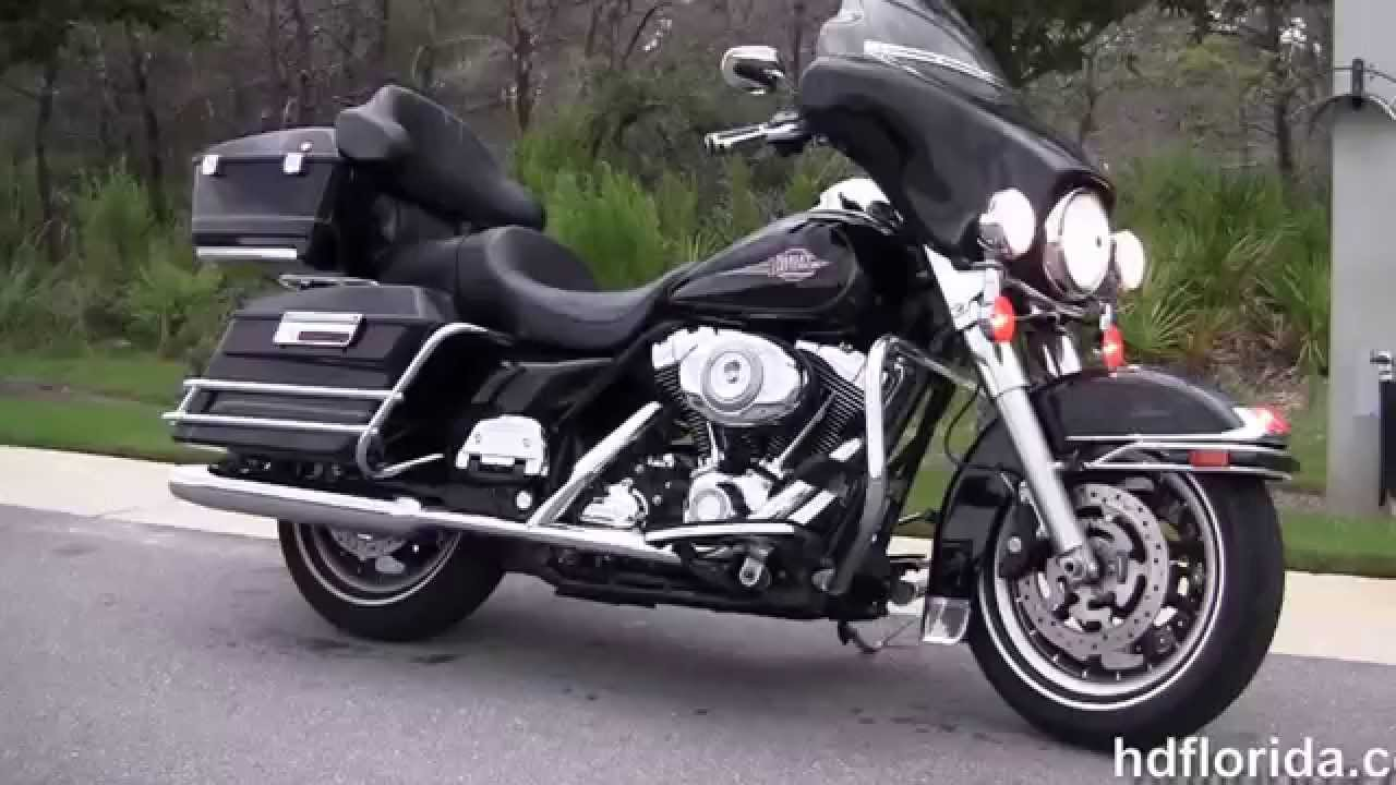 Used 2008 Harley Davidson Electra Glide Clic Motorcycles For In Alabama