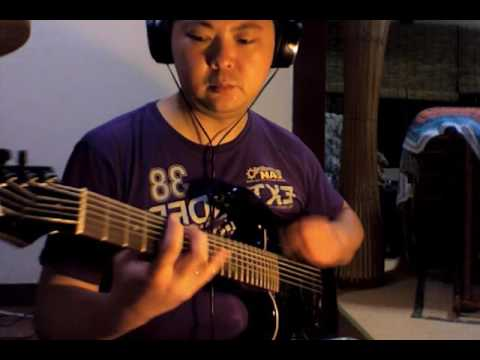 ???????????? / Bassqueva Guitar (7string drop D#) Cover and Impro Djent Jam by Katsu