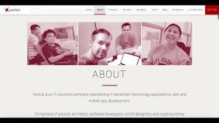 XSOLUS - THE ICO REVIEW   Blockchain, Web & App Solutions Development