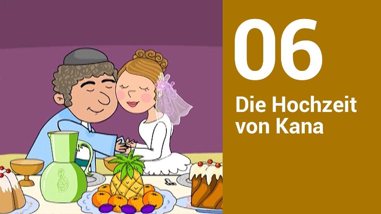 Hochzeit Zu Kana Auslegung Für Kinder