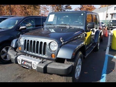 2008 Jeep Wrangler Unlimited Sahara  07202 Elizabeth Bayway, NJ