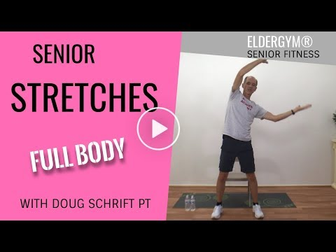 Quick Full Body Stretch for Seniors Improve flexibility in arms, back and legs.