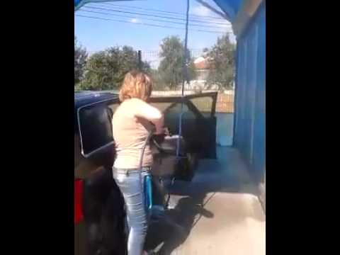 Washing Car Fail Gif