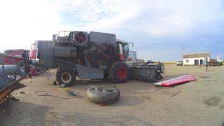 Как бак с Акроса сняли, как ГАЗ-52 не заводился и автопогрузчик АП-4014 делали. (107-День 3-Сезона)