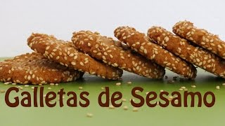 Galletas de Ajonjolí o Sésamo Fáciles -- The Frugal Chef