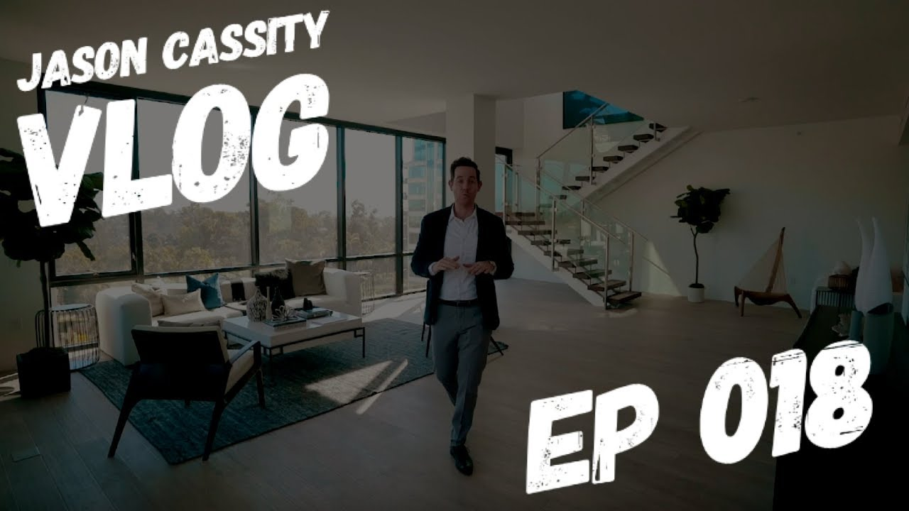 Tour A $4,989,000 San Diego Penthouse & We Talk TikTok | Jason Cassity Vlog Ep 018
