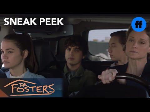 The Fosters | Season 5, Episode 11 Sneak Peek: Family Car Ride | Freeform
