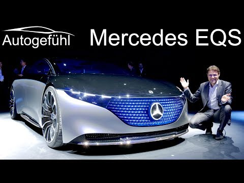 This will be the electric S-Class! Mercedes EQS concept first look - Autogefühl
