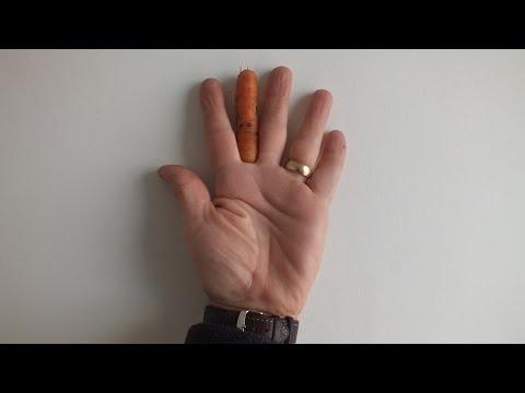 Carrot reveal + Irish Sea Sunset