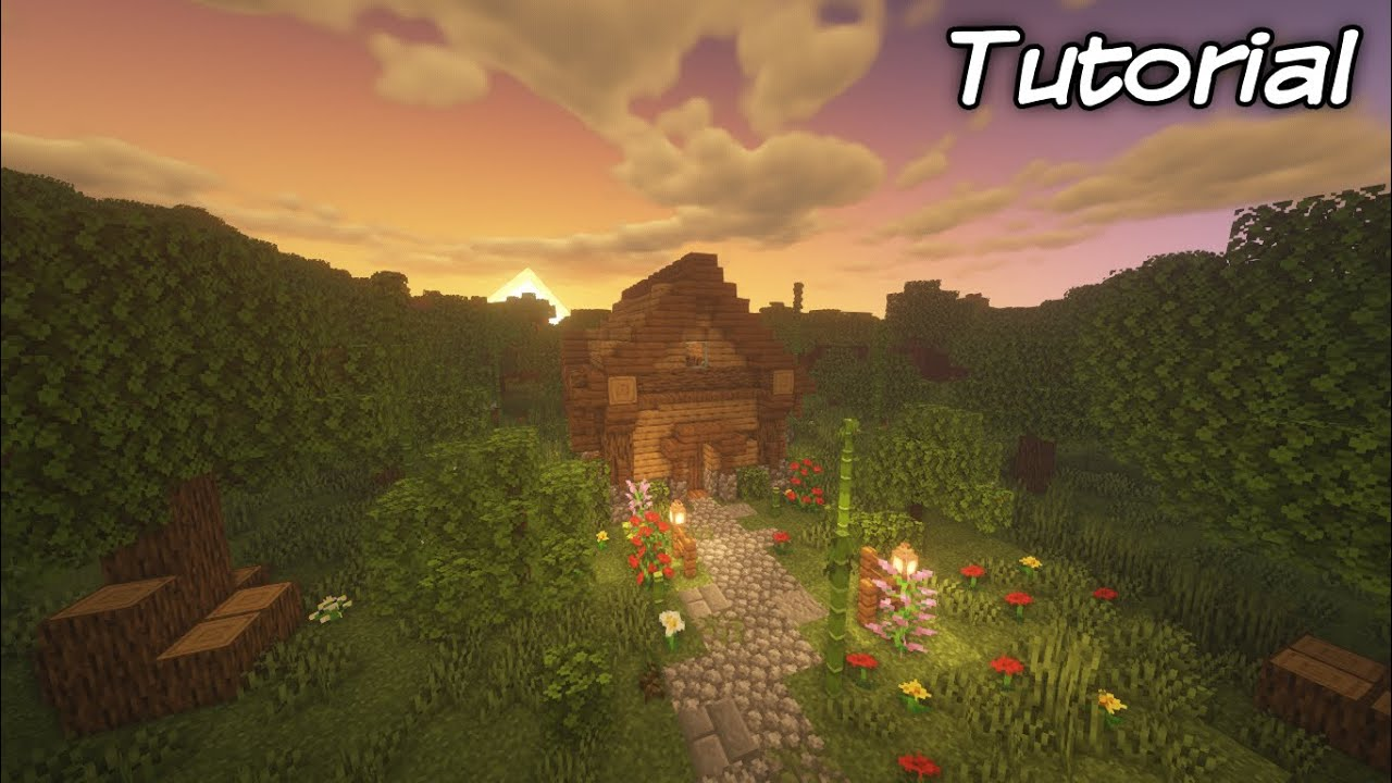 Minecraft House Tutorial   How to Build a Good Looking Starter House in Minecraft