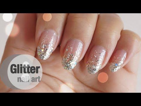 ทำเล็บสวยหรูดูแพง ด้วยงบ 50 บ.  Glitter Nail l Thai Narak