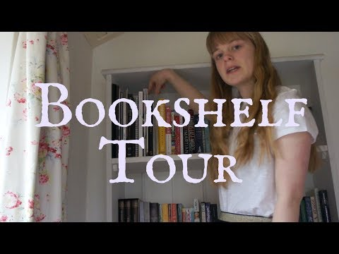 Bookshelf Tour 2017