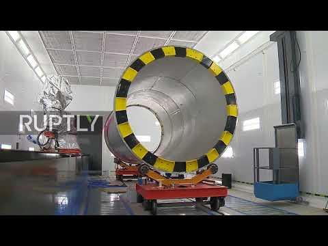 Inside Russia's new intercontinental ballistic Sarmat missile factory
