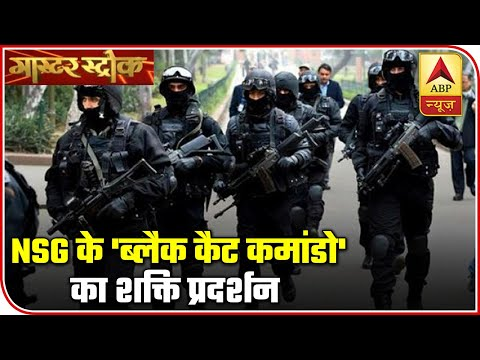 Know All About India's Proud NSG's 'Black Cat Commandos'| Master Stroke | ABP News