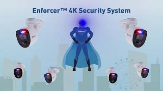 Swann 8MP 4K SODVK-856808RL Enforcer 8xCam 8xCh DVR 2TB CCTV System video