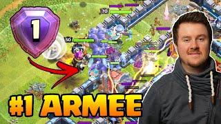 Armee von #1 Spieler kopiert | Ist die Taktik gut ? | Clash of Clans deutsch