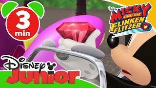 Micky und die flinken Flitzer - Clip: Der Juwelendieb | Disney Junior