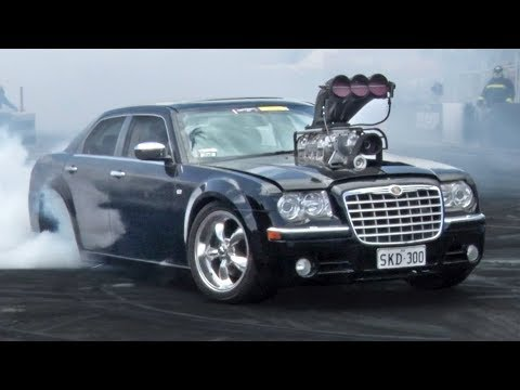 CRAZY Supercharged Chrysler, 3000hp Dyno Pulls, Ride Alongs & MORE!
