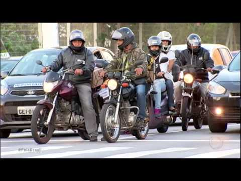 Uma moto é roubada a cada 15 minutos em São Paulo