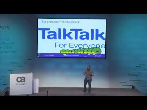 Case Study: Continuous Delivery in a Tech Debt Laden World by TalkTalk