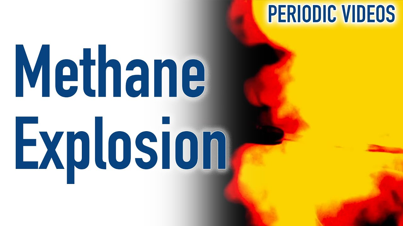 Lovely Methane Explosion (SLOW MOTION)   Periodic Table Of Videos   YouTube