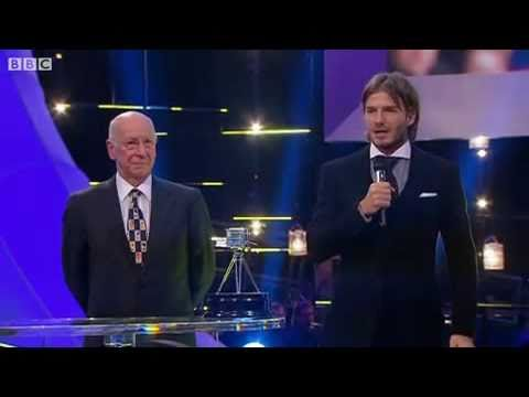 Emotional David Beckham Lifetime Achievement Award speech makes wife Victoria teary