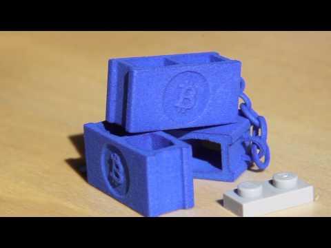 3D Printed Bitcoin Blockchain