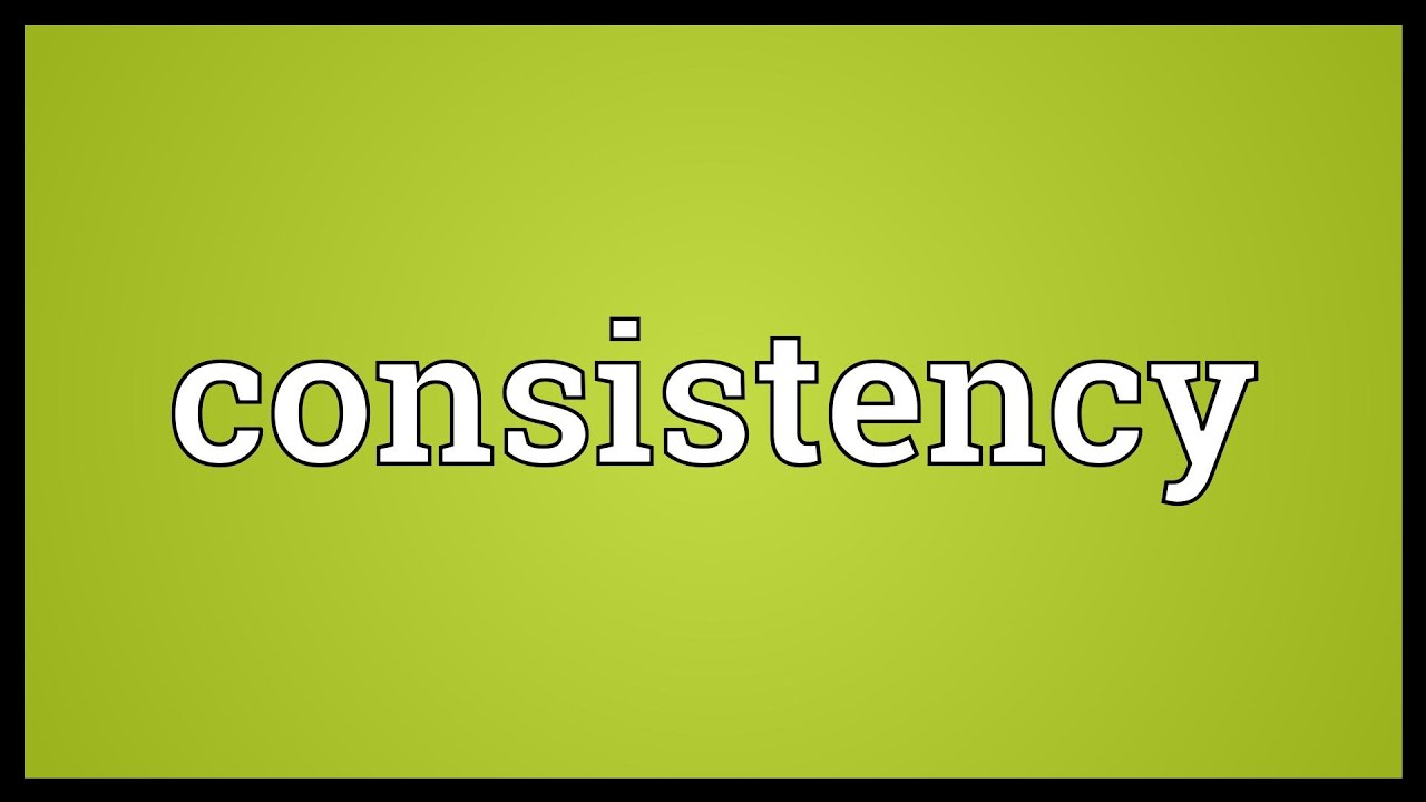 consistency in a relationship definition dictionary