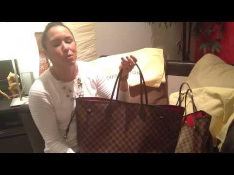 How To Spot a FAKE Louis Vuitton Neverfull GM Damier Ebene – FlipYourFlap.com