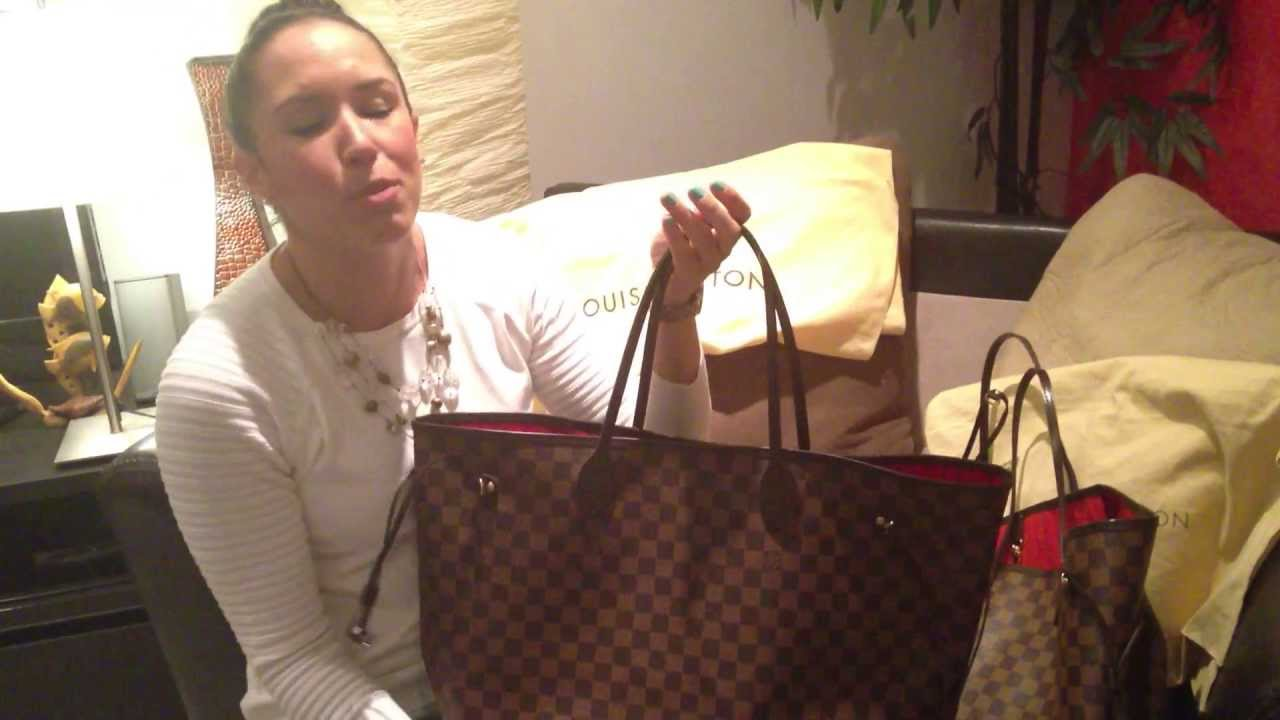 How To Spot a FAKE Louis Vuitton Neverfull GM Damier Ebene -  FlipYourFlap.com - YouTube 2381dc99b1099