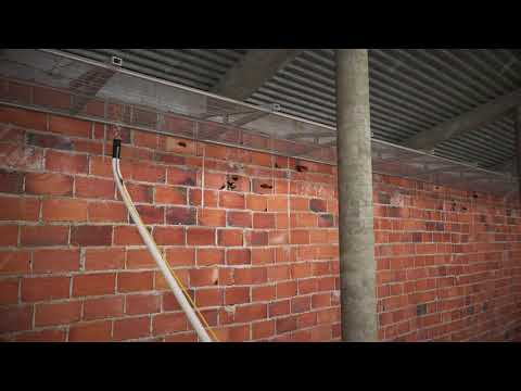Tecwool® F Mortar. Fire belt barrier system/roof firebreak.