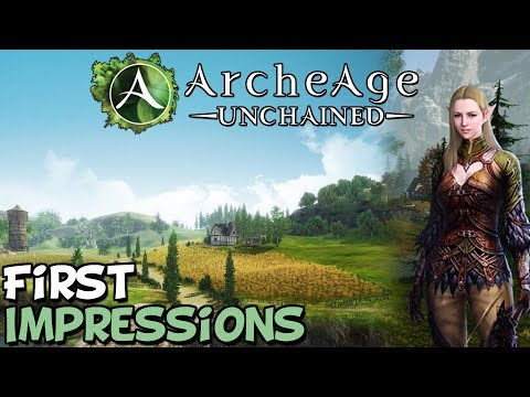 Archeage Unchained First Impressions