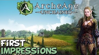 "Archeage Unchained First Impressions ""Is It Worth Playing?"""