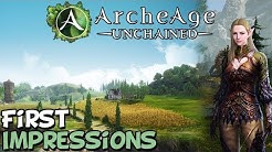 """Archeage Unchained First Impressions """"Is It Worth Playing?"""""""