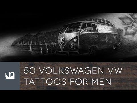 50 Volkswagen WV Tattoos For Men