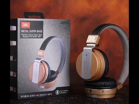 736519d2363 Headset Bluetooth Stereo JBL JB55 - Unboxing - YouTube