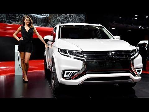2016 Mitsubishi Outlander Global Debut at NY Car Show - Cambridge Mitsubishi