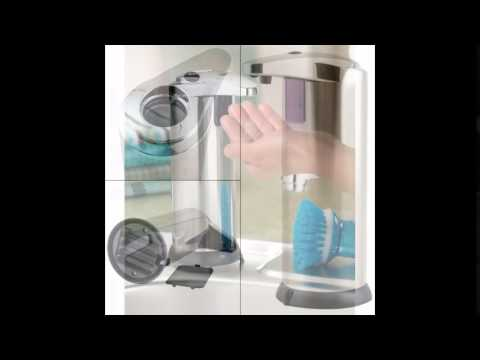 Soap Dispenser   Automatic Kitchen Hand Touchless Sensor Pump   Stainless  Steel Sanitizer
