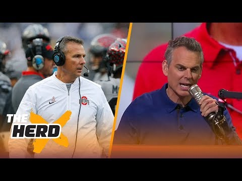 Colin Cowherd on Urban Meyer's future at Ohio State, the strength of the Big Ten in 2017   THE HERD