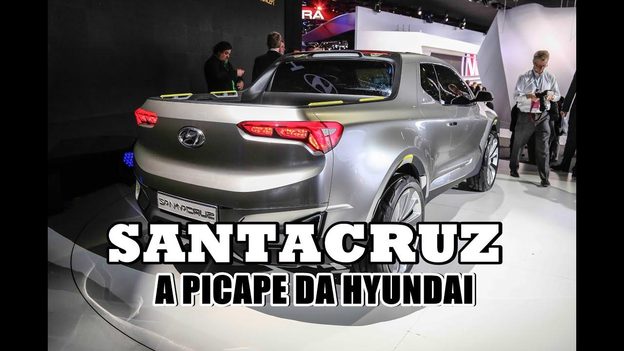SANTACRUZ: A PICAPE DA HYUNDAI - YouTube