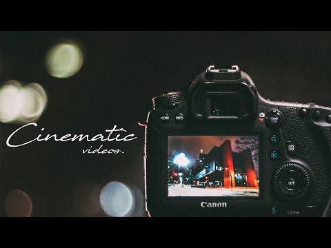 How to Shoot Cinematic Videos on a DSLR!