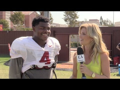 USC safety Chris Hawkins will face brother in Idaho game