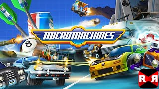 Micro Machines (By Chillingo Ltd) - iOS / Android - Gameplay Video