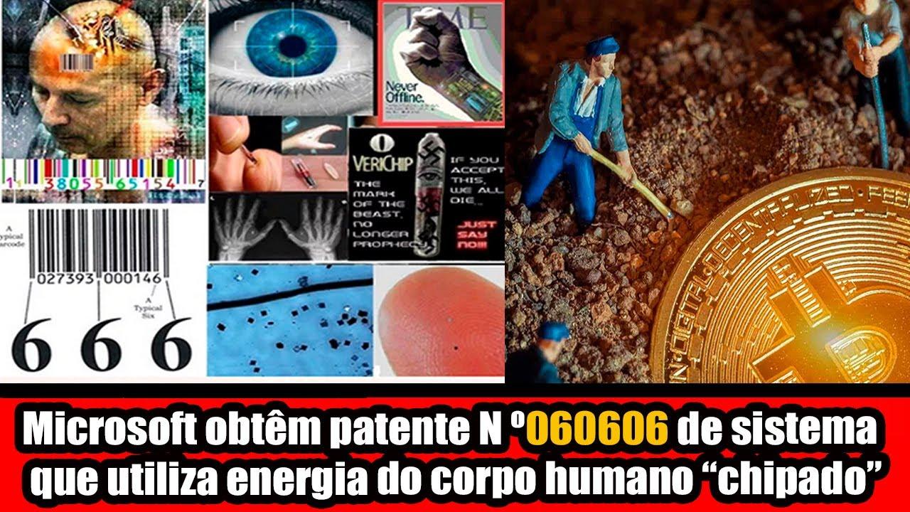 Microsoft obtêm patente N º060606 de sistema que utiliza energia do corpo humano chipado