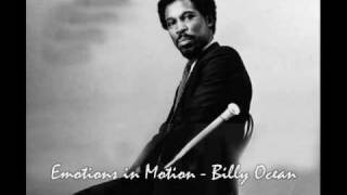 Billy Ocean   Emotions in Motion