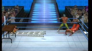 Sin Cara vs Rey Mysterio vs Alberto Del Rio TLC Smackdown vs Raw 2011