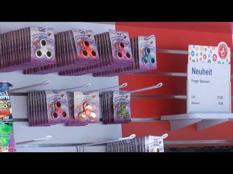 Franz Carl Weber Toys Store Zürich Bahnhofplatz - incl. FIDGET SPINNERS!